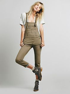 Free People Railroad Printed Overall at Free People Clothing Boutique