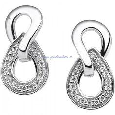 Orecchini Oro bianco e Diamanti Comete Gioielli ORB 599 http://www.gioiellivarlotta.it/product.php?id_product=293
