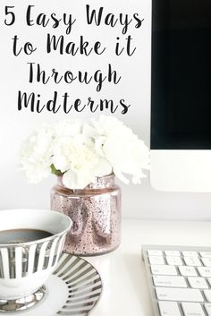 5 Easy Ways to Help you make it through Midterms AND lower overall stress levels during exams!
