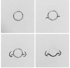 Comment dessiner un nez