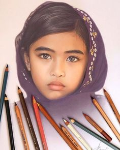 Artist Makes Amazing Hyper-Realistic Drawings Using Only Colored Pencils - Doll Faces - Artist Makes Amazing Hyper-Realistic Drawings Using Only Colored Pencils - Colored Pencil Portrait, Colored Pencil Artwork, Color Pencil Art, Colored Pencils, Realistic Pencil Drawings, Pencil Art Drawings, Art Drawings Sketches, Pencil Sketching, Tattoo Sketches