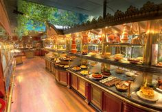 Les Grands Buffets, one of the 'top 10 luxury buffets in the world' by China.org.cn.