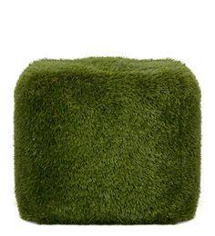 grass floor cushion.