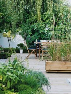Terrasse verdoyante, terrace, terrasse, home, décoration terrasse, terrasse plantes, terrasse jardin