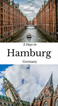 Highlights from 3 Days in Hamburg Germany by the Divergent Travelers Adventure Travel Blog. we were both absolutely taken with the city and think anyone who doesn't spend 3 days in Hamburg is crazy. why you should spend 3 of your precious vacation days on this cool city. Tune into the comments below and let us know if we have convinced you to add Hamburg to your travel lists. Click to read more at http://www.divergenttravelers.com/3-days-hamburg-germany/