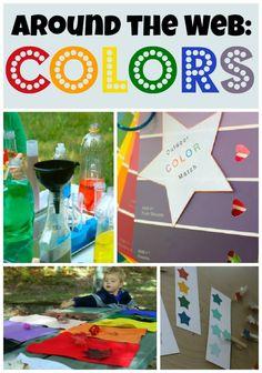 10 fun color activities from around the web!  #GaleriAkal Untuk berbagi ide dan kreasi seru si Kecil lainnya, yuk kunjungi website Galeri Akal di www.galeriakal.com Mam!