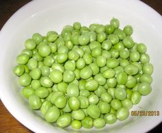 Our daily peas