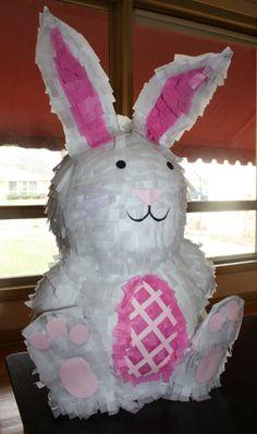 Bunny Pinata by PinataQueen on Etsy, $48.00