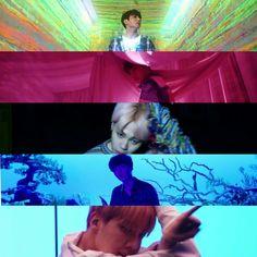 Blood, sweat and tear, Japanese version, MV teaser