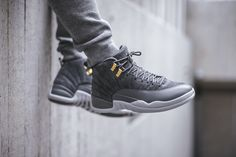 We're Days Away From The Release Of The Air Jordan 12 Dark Grey