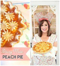 daisy mae peach pie Daisy Mae, Kinds Of Pie, Sugar Pie, Farmhouse, Archive, Peach, Bakery, Southern, Tarts
