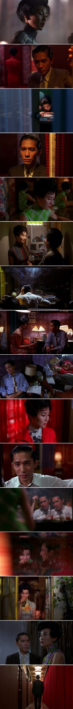In the Mood for Love (2000) Directed by Kar-wai Wong. Cinematography by…