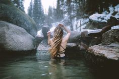 Come to the PNW and discover a beautiful collection of natural springs everywhere! In this post, we're sharing 5 Pacific Northwest hot springs in Washington, Idaho and Oregon! Idaho Hot Springs, Colorado Springs, Colorado Mountains, Travel Oklahoma, New York Travel, Death Valley, Winter Travel, Thailand Travel, Pacific Northwest