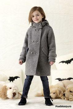 Ermanno Scervino. Коллекция для маленьких модниц. Осень-зима 2013-2014 / модная одежда для маленьких модниц