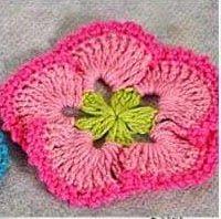 Patrón #505: Flor a Crochet o Ganchillo | CTejidas [Crochet y Dos Agujas]