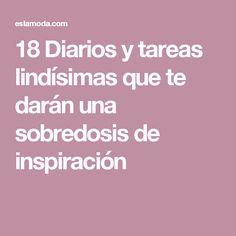 18 Diarios y tareas lindísimas que te darán una sobredosis de inspiración
