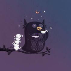 No sleep, just coffee!:)