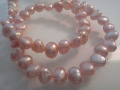 Pink Cultured Freshwater Pearl Potato Rococo by PriorityBeads, $1.99