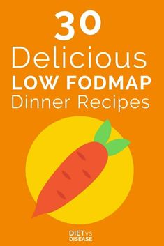 Looking for some delicious low FODMAP dinner ideas? We've rounded up 30 tasty low FODMAP dinner recipes to keep your tummy settled and your taste buds happy Fodmap Recipes, Vegan Recipes, Fodmap Foods, Fodmap Meal Plan, Food Intolerance, Fructose Intolerance, Healthy Vegetables, Healthy Eating Tips, Low Fodmap