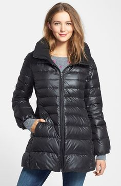Marc New York 'Eva' Down Coat with Detachable Hood | Nordstrom