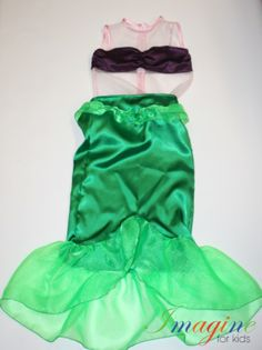 Mermaid costume  For more information contact Imagine For Kids at sales@imagineforkids.com.au  www.fb.com/imagine4kids Custom Made, Mermaid, Costumes, Skirts, Dress Up Clothes, Fancy Dress, Skirt, Gowns