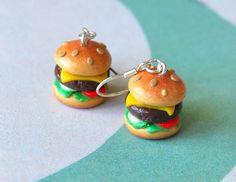 cheeseburgers | fimo cheeseburgers | Fimo