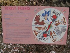 Forest Friends 60s board game