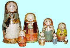 Хожу-брожу, матрешку держу  - Canciones infantiles rusas - Rusia - Mamá Lisa's World en español: Canciones infantiles del mundo entero, Intro Image