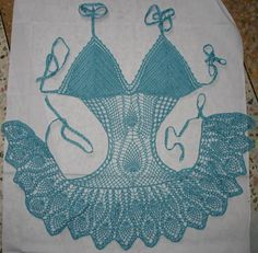 bikini patterns | Free Crochet Pattern – Bikini Top (girls) from the Beach Free