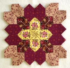 Block 8 by Muriel for the POTC Blog Along at Little Quilts