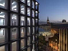 Gallery of Gridiron, One St. Pancras Square / David Chipperfield - 1