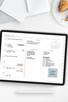 Planner Layout, Goals Planner, Life Planner, Planner Ideas, Weekly Planner Template, Monthly Budget Planner, Schedule Templates, Diary Template, Journal Template