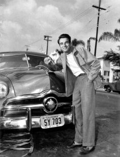 Montgomery Clift and his Ford http://www.pinterest.com/veeamethyst/cruising-with-the-stars/