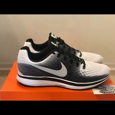 new style e3b60 15314 Nike Shoes   New Nike Air Zoom Pegasus 34 Running Shoes Max 11   Color   Black White   Size  11