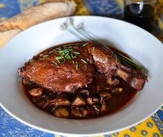 Coq au Vin - a recipe from Chef Ryan McIntyre at Bistro Zinc in Lenox, MA. Perfect comfort food!