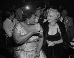 Ella Fitzgerald and Marlyn