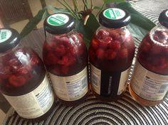 Homemade Raspberry Tea!