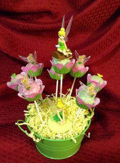 Tinkerbell Pops Cakepops Pinterest Tinkerbell Http
