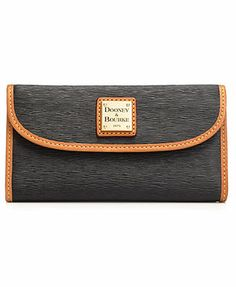 Dooney & Bourke Handbag, Cork Clutch Wallet. If you have an expensive hand bag. You need an expensive wallet to go with it.