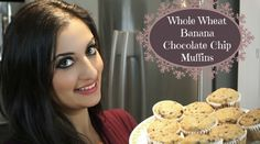 Today I'm sharing with you my recipe for whole wheat banana chocolate chip muffins. These muffins are a classic and there are a lot of different Muffin Recipes, My Recipes, Banana Chocolate Chip Muffins, Whole Wheat Flour, Different Recipes, Yogurt, Yummy Food, Sugar, Treats