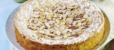 Espanjalainen mantelitorttu   Makeat leivonnaiset   Reseptit – K-Ruoka Gluten Free Baking, Fodmap, No Bake Desserts, Hummus, Pie, Ethnic Recipes, Food, Torte, Cake