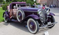 Persecución a bordo de un Hispano-Suiza