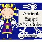 There are two ABC order activities where students must alphabetize Ancient Egyptian vocabulary. The first includes picture cards that students can ...
