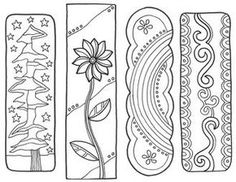 Bookmarks - free printables from Classroom Doodles.