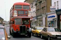East Street - Bromley Kent - in the probably Anthony Sargeant notes that it is now the London Borough of Bromley London Bus, Old London, Old Pictures, Old Photos, Rt Bus, Council Estate, Routemaster, East Street, Double Decker Bus
