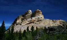 Crazy Horse Monument is an enormous and spectacular sculpture-in-progress of Lakota leader, Crazy Horse, featuring a campus commemorating Native American history and culture, located on a Black Hill's mountaintop
