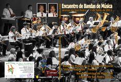 Portada del DVD del Encuentro de Bandas Arenas Esquivias del 2 de Julio de 2011
