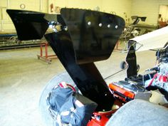 Cool dragster wing