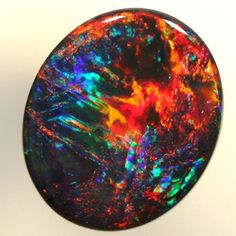 Opal | ovaler opal 10 4x8 9mm 1 25ct dieser natürlichen opal kommt aus ...