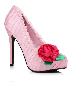 Look at this Pink Penelope Pump on #zulily today!
